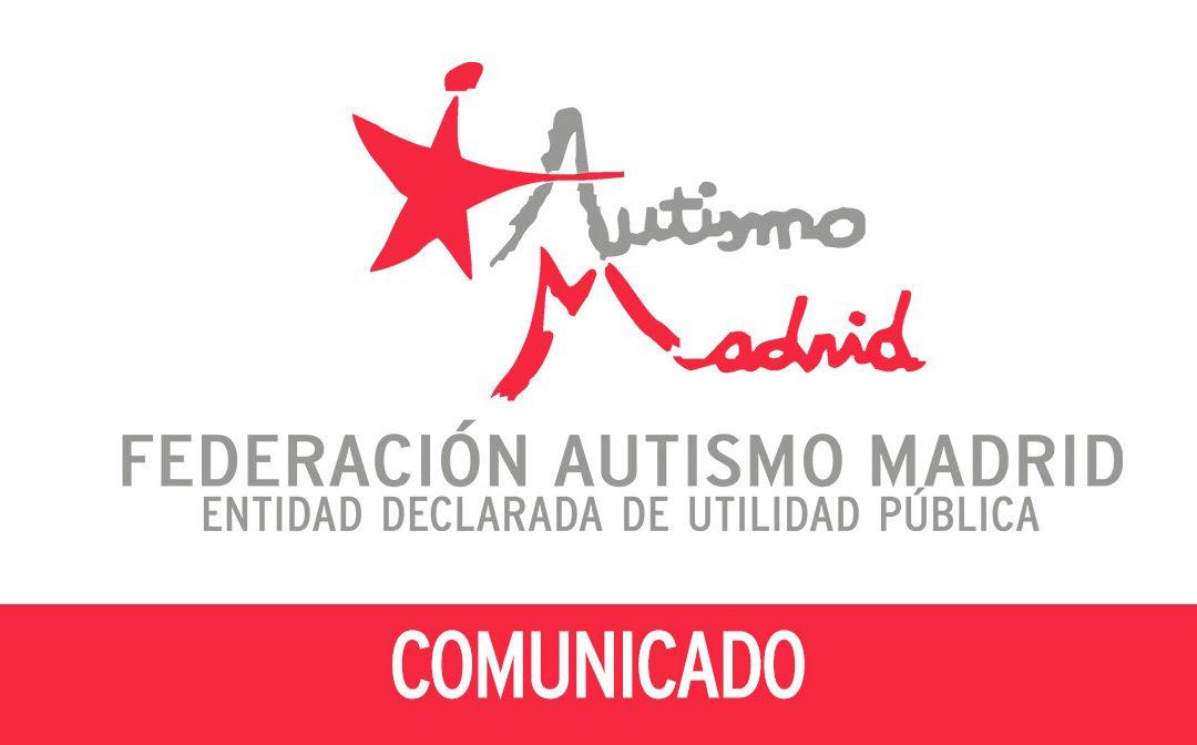 Comunicado de Federación Autismo Madrid a favor de la Educación Inclusiva y de la Educación Especial