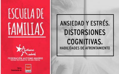 Nuevo taller de la Escuela de Familias de Federación Autismo Madrid