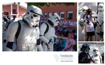 Star Wars visita el Colegio AUCAVI-SUR