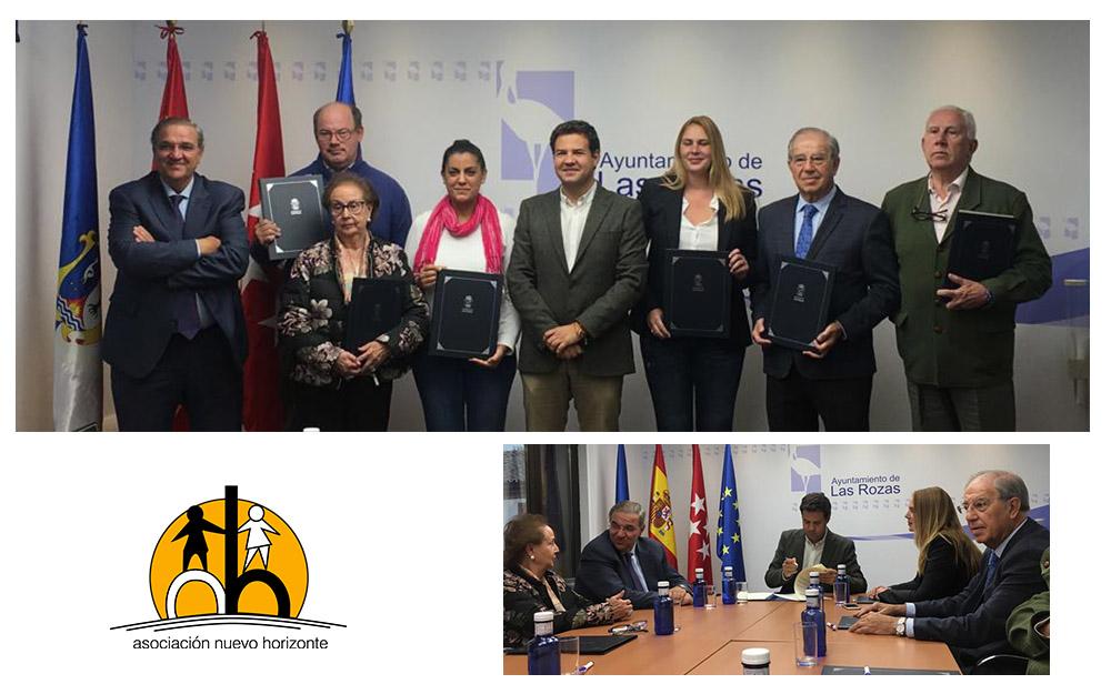 Nuevo Horizonte renueva su convenio de colaboración con el Ayuntamiento de Las Rozas