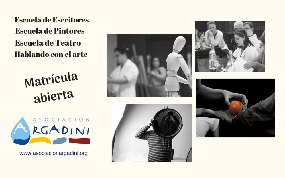 Matrícula abierta para las actividades culturales y artísticas de la Asociación Argadini