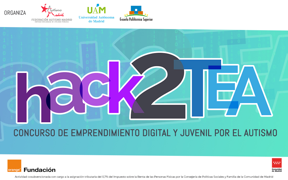 HACK2TEA, concurso de emprendimiento digital por el autismo durante TrasTEA 2018