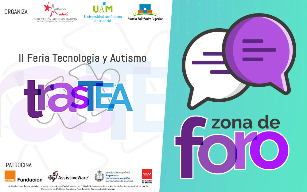 Comunicación Aumentativa y Alternativa y buenas prácticas en TrasTEA 2018