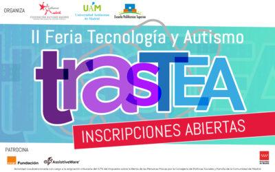 Abiertas las inscripciones para la II Feria de Tecnología y Autismo TrasTEA 2018