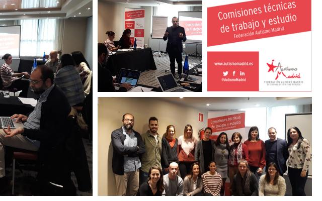 Balance anual de las Comisiones Técnicas de Trabajo y Estudio de Autismo Madrid