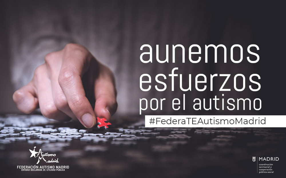 Fedérate en Autismo Madrid: más de 20 años aunando esfuerzos