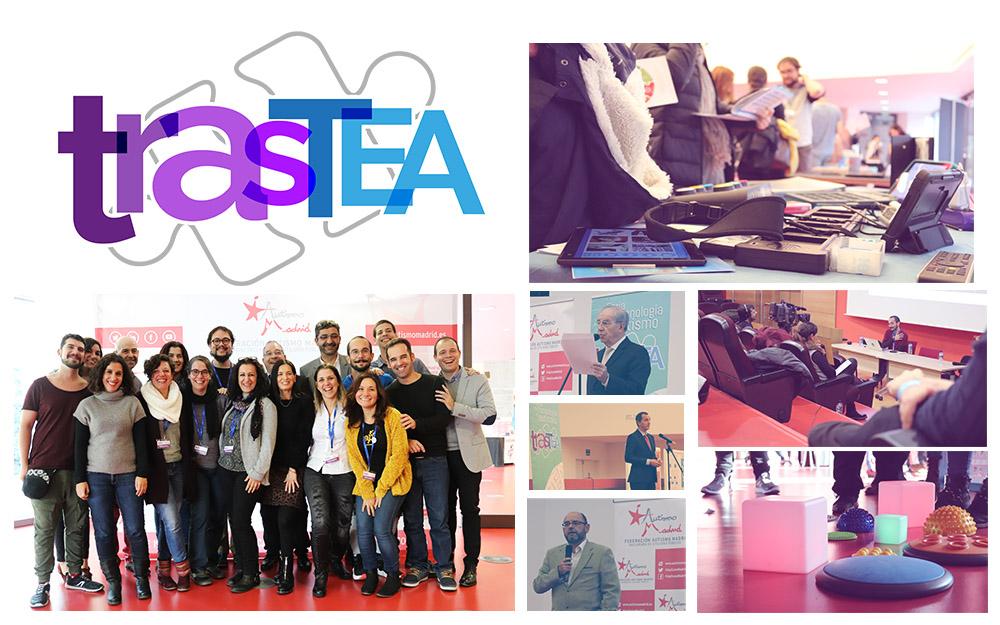Gran éxito de la II Feria de Tecnología y Autismo TrasTEA 2018