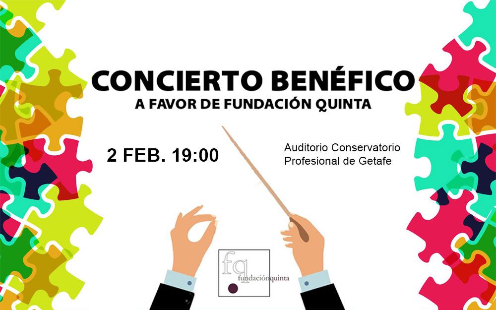 Concierto benéfico en Getafe a favor de Fundación Quinta
