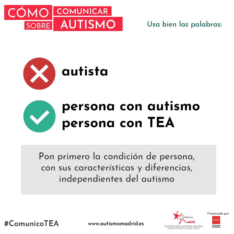 Cómo comunicar sobre autismo: Usa bien las palabras