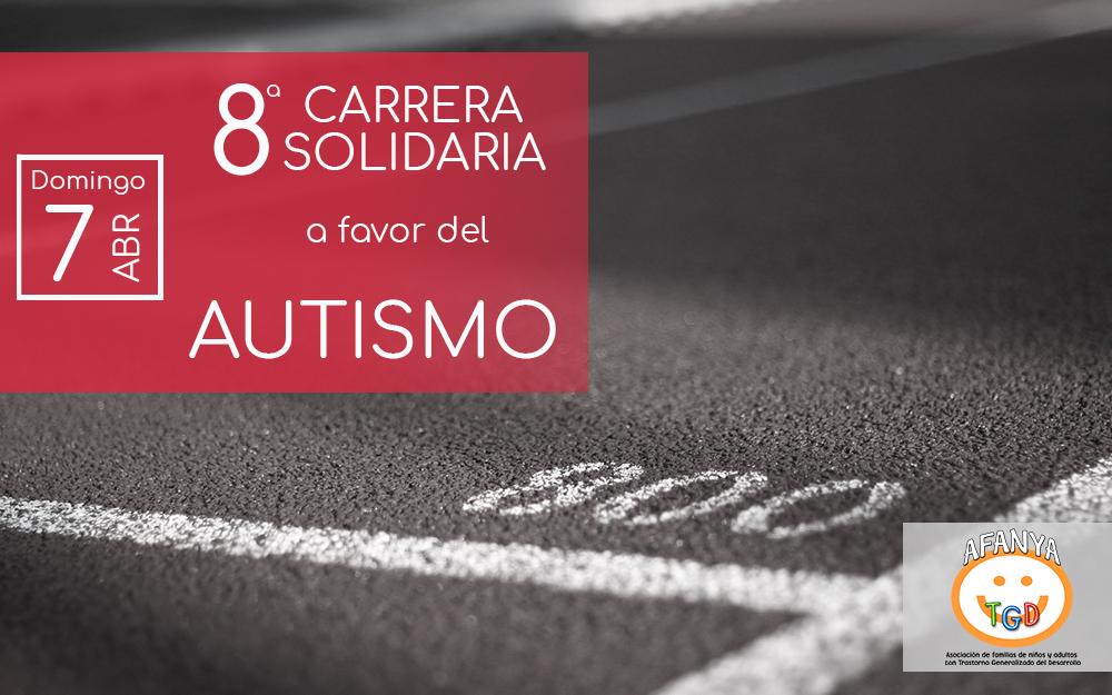 8ª Carrera solidaria a favor del Autismo organizada por Afanya