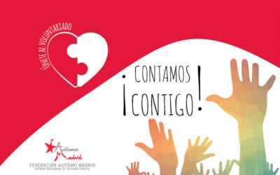 ¿Quieres formar parte del Voluntariado de Federación Autismo Madrid?