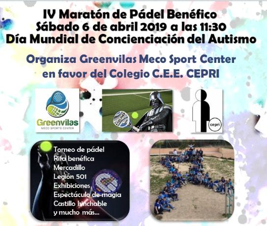 IV Maratón Benéfico del Colegio CEE CEPRI