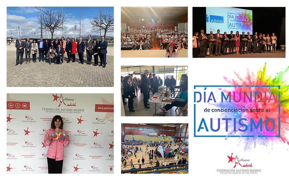 Más de 500 personas celebran el #DíaMundialAutismo con Autismo Madrid