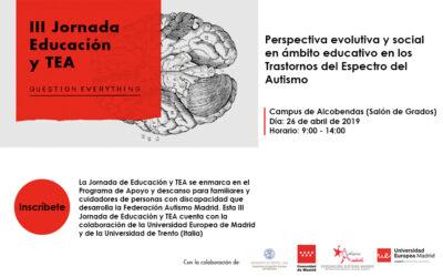 III Jornada Educación y TEA