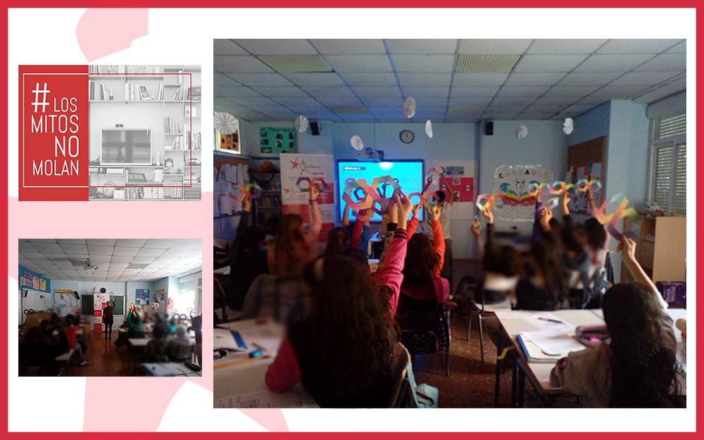 Taller de sensibilización sobre TEA en dos centros escolares
