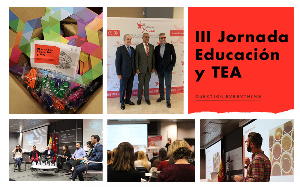 Conclusiones de la III Jornada Educación y TEA