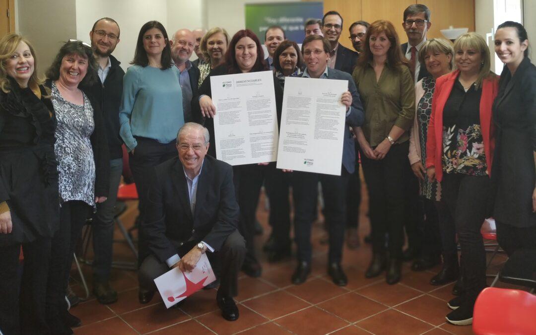 Almeida se reúne con las entidades de autismo de la ciudad de Madrid para conocer sus necesidades