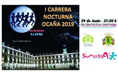 I Carrera Nocturna Ocaña 2019 a beneficio de SumaTEA