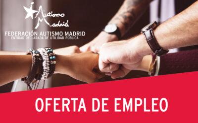 Oferta de empleo para psicólogo/a en Federación Autismo Madrid