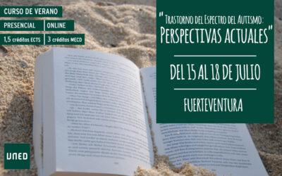 Curso de Verano de la UNED sobre TEA: perspectivas actuales