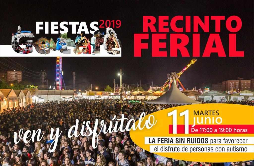 Una tarde sin música en la Feria de Getafe para las personas con autismo