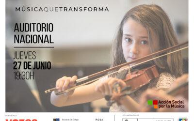 Concierto de Acción Social por la Música: Música que transforma