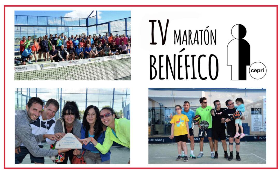 Maratón benéfico de pádel a favor de CEPRI