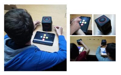 Actividad musical con Skoog de Apple para personas con Autismo
