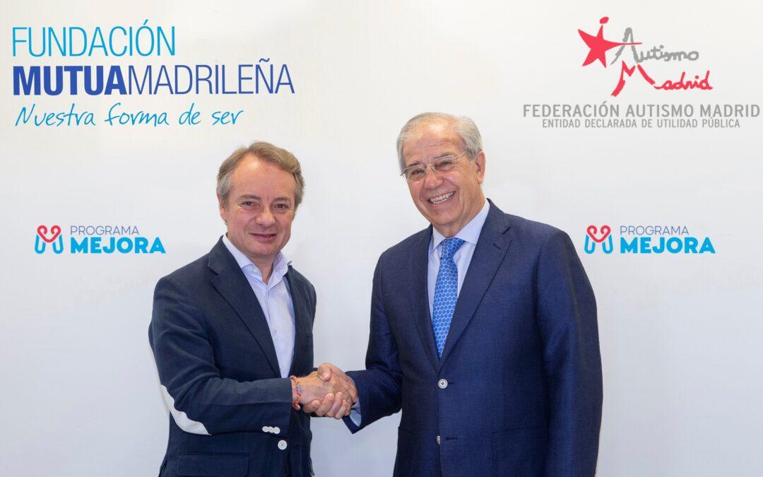 Fundación Mutua Madrileña y Autismo Madrid firman un acuerdo de colaboración