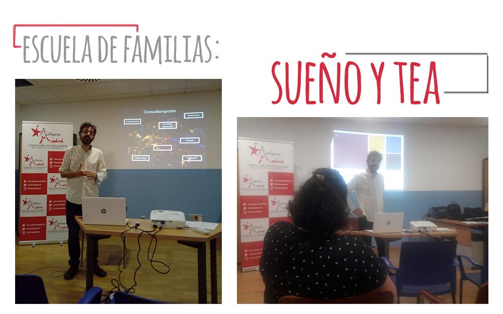 Escuela de Familias: Sueño y TEA