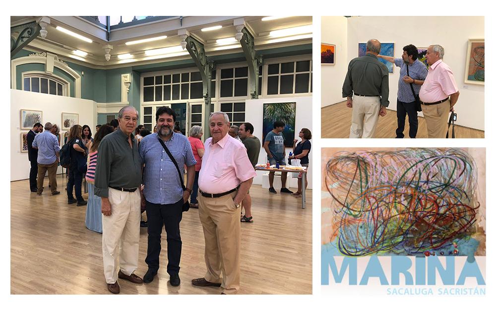 Acudimos a la inauguración de la exposición de Marina Sacaluga, artista con TEA