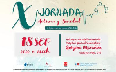 X Jornada Autismo y Sanidad de Federación Autismo Madrid