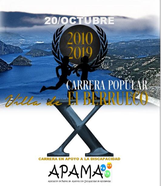 X Carrera Popular Villa de El Berrueco a favor de APAMA
