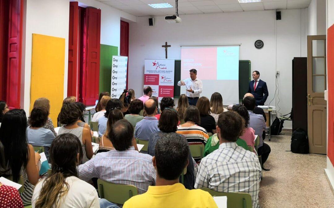 Autismo Madrid y Fundación Gmp facilitarán formación en buenas prácticas en autismo a profesionales de la educación