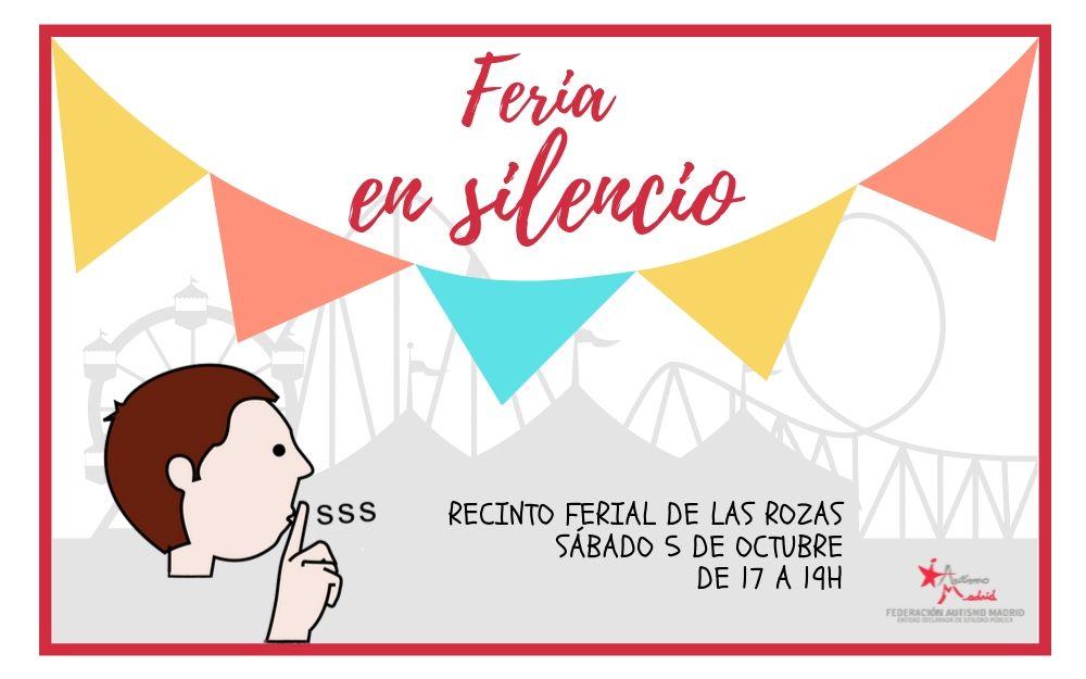 El Recinto Ferial de Las Rozas se silencia durante dos horas este sábado