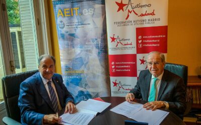 Autismo Madrid firma un convenio con la Asociación española de ingenieros de telecomunicación en la CAM