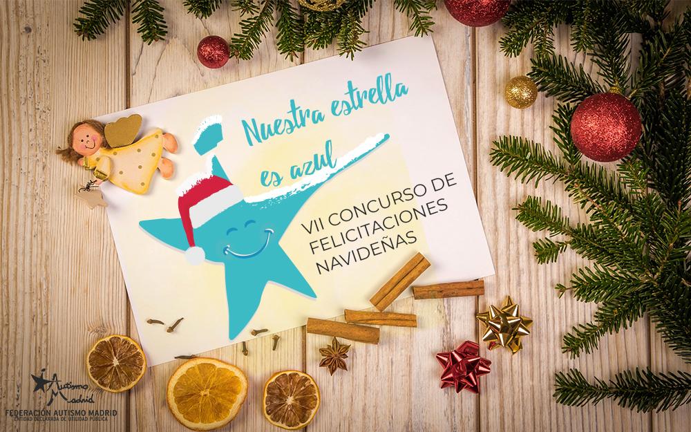 Concurso de felicitaciones navideñas «Nuestra Estrella es Azul»