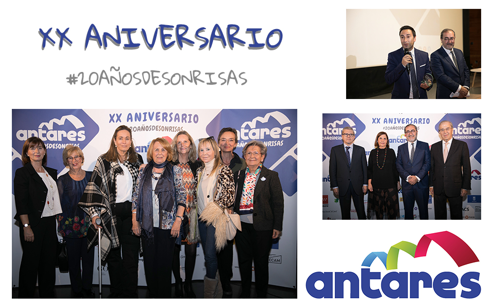 Asociación Antares cumple 20 años de sonrisas