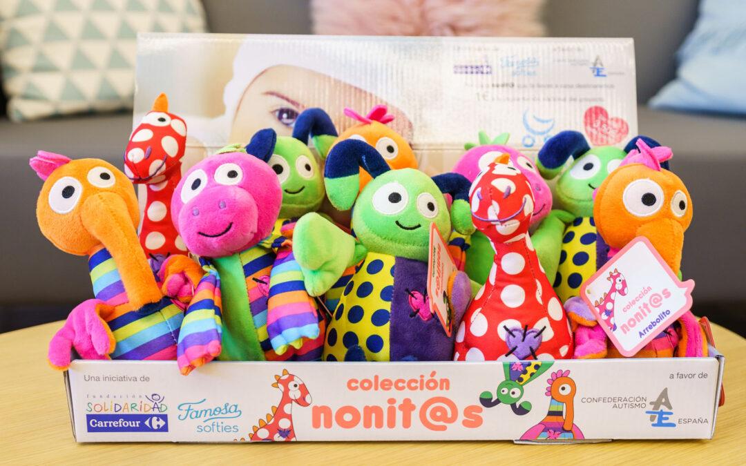 Fundación Solidaridad Carrefour y Famosa presentan la colección 'L@s Nonit@s' para la detección precoz del autismo en bebés