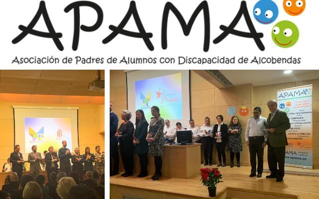 Autismo Madrid recibe el reconocimiento Amigos de APAMA