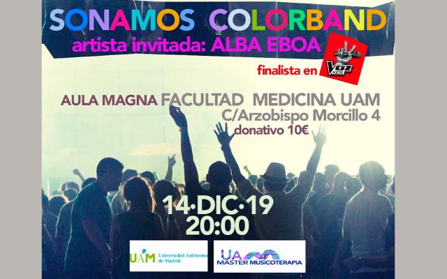 La Fundación Musicoterapia y Salud presenta el concierto «Sonamos Colorband»