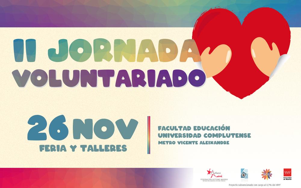 II Jornada de Voluntariado de Autismo Madrid y la Universidad Complutense