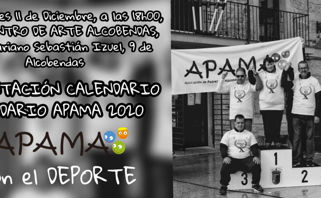 APAMA presenta el Calendario Solidario APAMA 2020