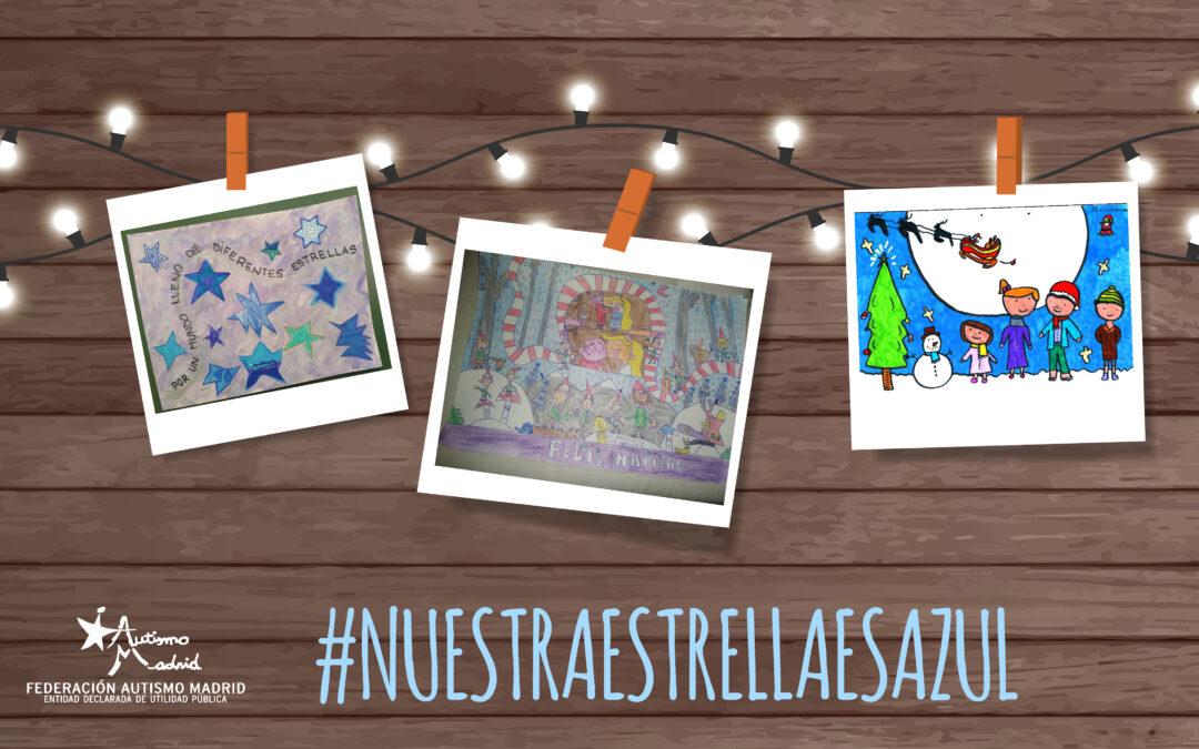 Preciosas postales que nos llegan para el concurso «Nuestra Estrella es Azul»