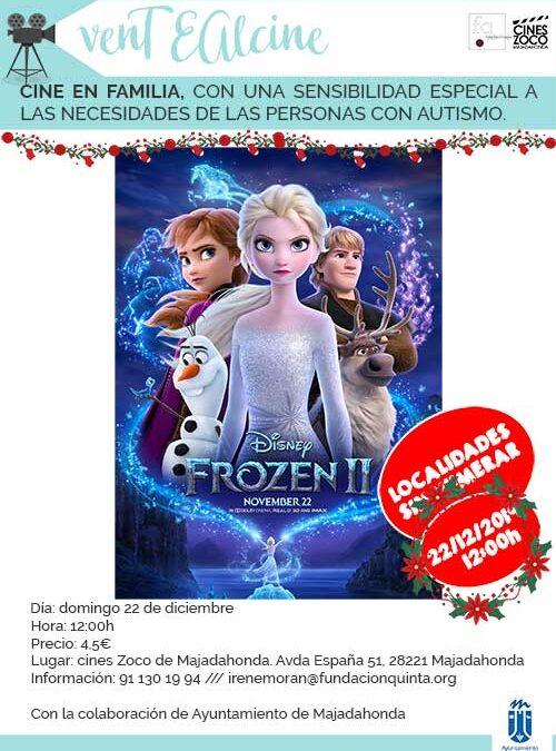 Frozen 2: Sesión adaptada a las necesidades de las personas con TEA