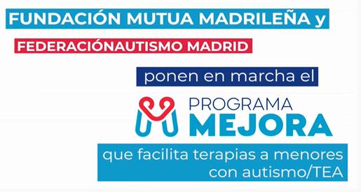 Vídeo del Programa Mejora de Fundación Mutua Madrileña y Autismo Madrid