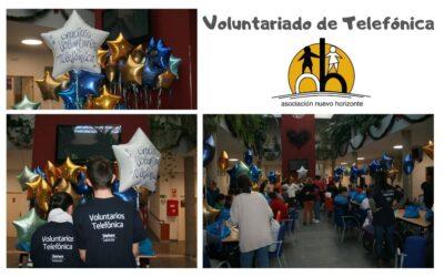 Voluntariado Telefónica visita la Asociación Nuevo Horizonte