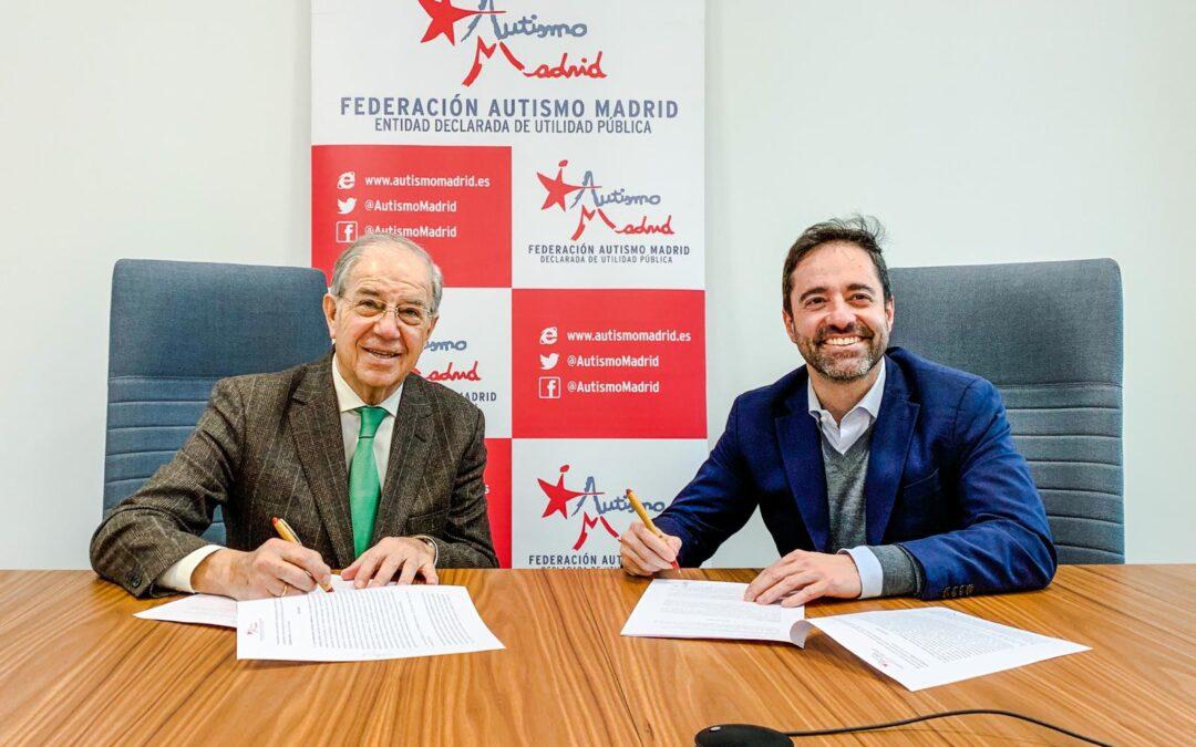 Intu Xanadú y Autismo Madrid firman un convenio de colaboración