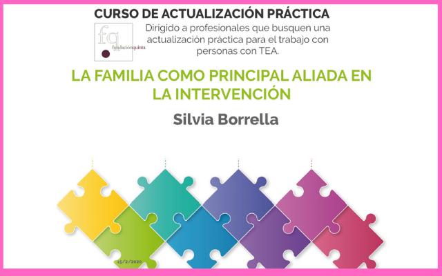 «La familia como principal aliada en la intervención»: curso de actualización práctica