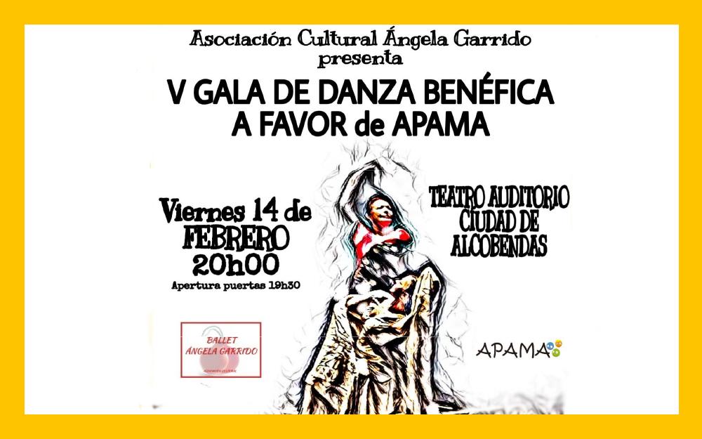 V Gala de danza Benéfica a favor de la Asociación APAMA